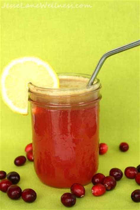 Cranberry Detox Recipe by Cranberry Apple Detox Juice By Wellness