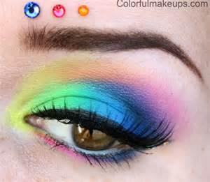 colorful makeup colorful makeup tutorial using sleek acid palette