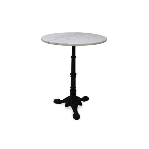 marble bistro table marble bistro table w iron base white marble you will