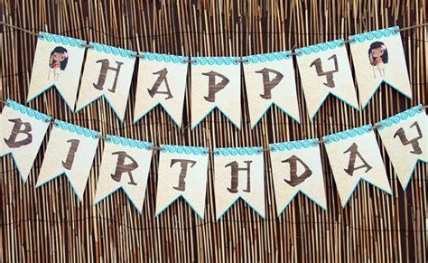 Free Disney Moana  Ee  Birthday Ee   Party Printables Pretty Party