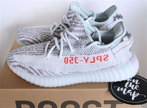 adidas yeezy boost   blue tint             sizes  ebay