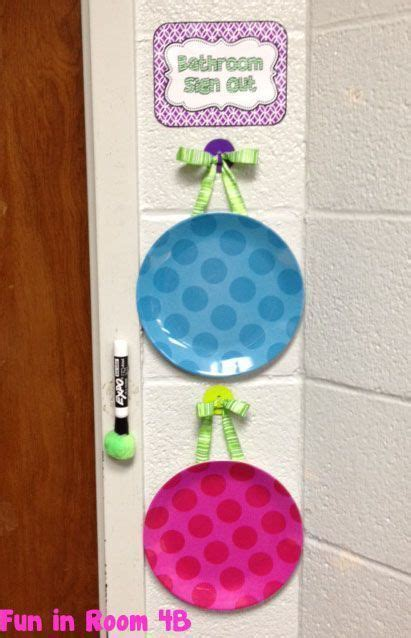 bathroom signs for classroom best 25 bathroom sign out ideas on pinterest