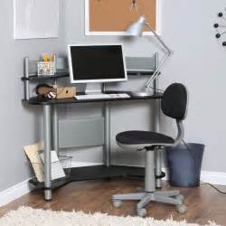 Small Desk Black Furniture White Wooden Small Desk With Shelves And Wooden Drawers Plus Black Purple Chair On