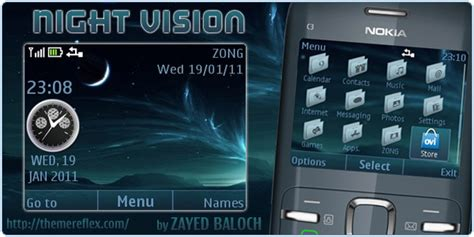 themes for mobile x2 01 night vision theme for nokia c3 and nokia x2 there are