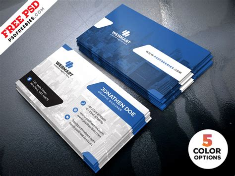 business card painting template psd clean business card templates psd psdfreebies
