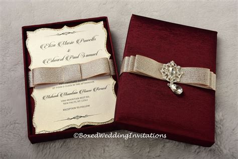 Couture Wedding Invitations by Couture Wedding Invitation Box