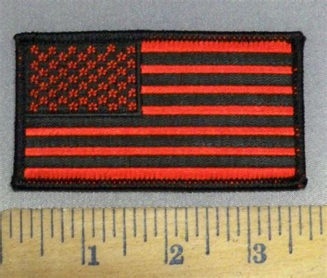 Cp Flag Black 4117 cp and black flag 3 5 inch embroidery patch