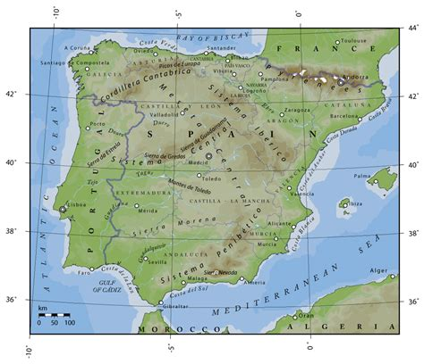 iberian peninsula map image gallery iberian peninsula location