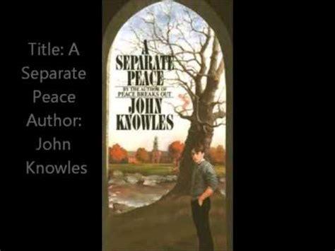a separate peace book report book vs a separate peace
