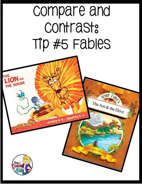 the fable compare and contrast and literacy on pinterest 93 best therapy fables images on pinterest activities
