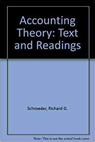 Economics A Text With Readings 3th By Richard Tgill accounting theory text and readings 9780471305323