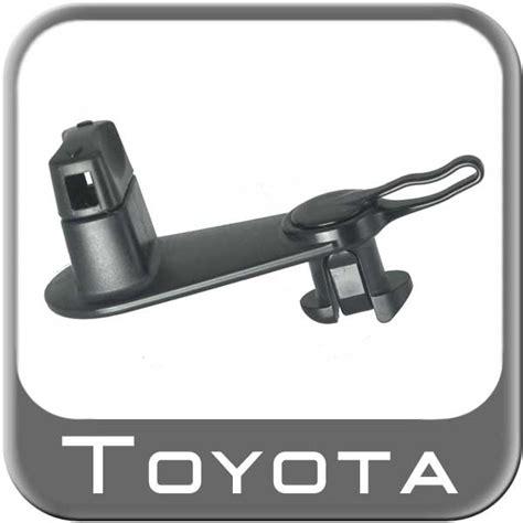 Floor Mat Hooks by Genuine Toyota 08211 00720 Floor Mat Retainer Hooks Black