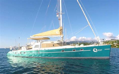 yacht quest quest crewed catamaran charter virgin islands