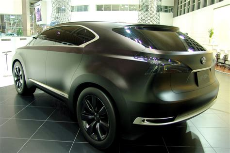 lexus black paint the lexus lf xh concept in matte black lexus enthusiast