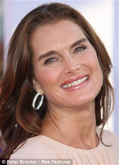 pics of women that are 47 years old as 47 year old brooke shields steps out make up free we