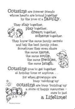 funny cousin poems google search cousin quotes sister
