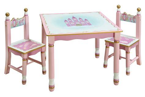 princess table and chair set guidecraft preschool princess pink play table