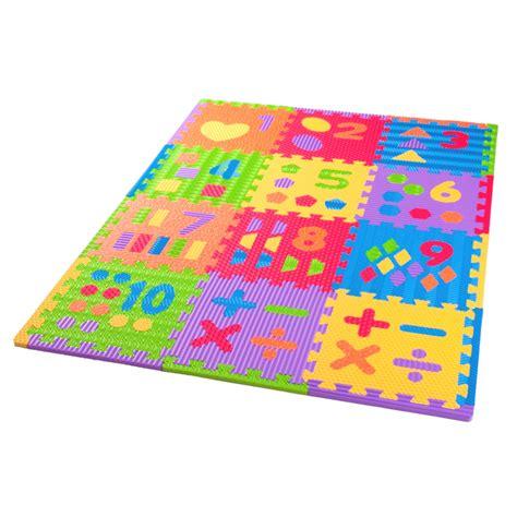 Foam Number Mat by Sensory Number Play Mat 12 Pack Softfloor Uk