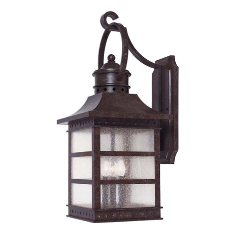 Outdoor Rustic Lighting Savoy House Rustic Bronze Outdoor Wall Light 5 441 72 Destination Lighting