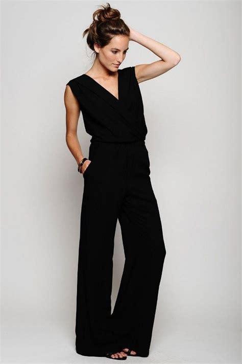 Jumsuit Black dressy jumpsuits dressed up