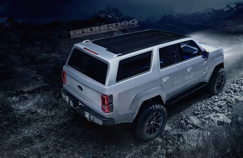 concept bronco 4 door 2020 ford bronco concept isn t real still awesome