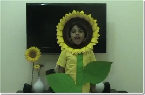 disfraz girasol imagui disfraz de flor de girasol imagui