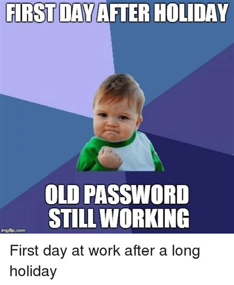 Day After Christmas Meme - first day at work meme pictures to pin on pinterest