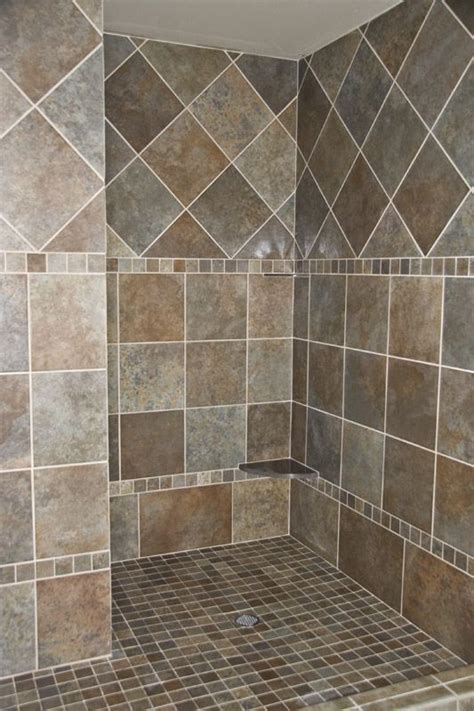 bathroom tile designs patterns 17 best ideas about shower tile designs on