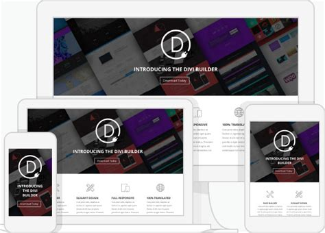 elegant themes page builder responsive the divi builder plugin has arrived a drag drop page