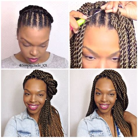 hairstyles for crochet senegalese if you re transitioning by doing the big chop this