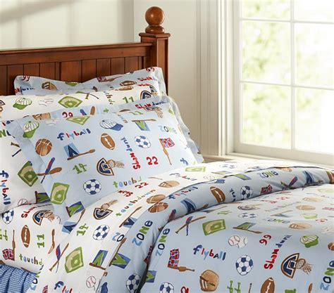 Pottery Barn Sports Quilt by Favorite Sports Duvet Cover Pottery Barn