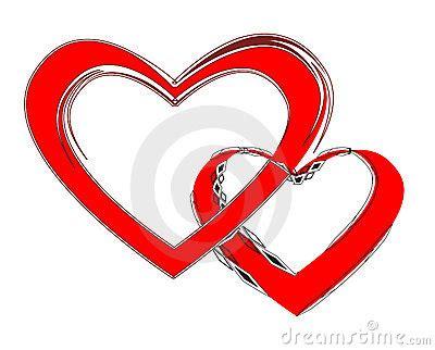 imagenes de dos corazones unidos pares cari 241 osos dos corazones unidos foto de archivo