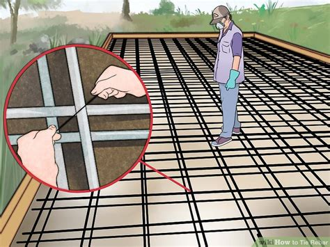 pattern welding rebar how to tie rebar 15 steps with pictures wikihow