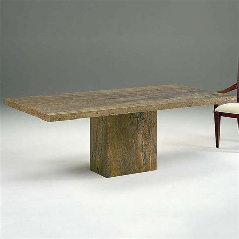 Solid Marble Dining Table by Rossini Solid Marble Dining Table Robson Furniture