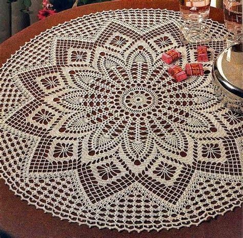 pattern magic italiano ivelise feito 224 m 227 o linda toalha redonda em croch 234