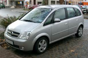 Opel Meriva 2004 2004 Opel Meriva A Pictures Information And Specs