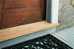 How To Replace A Threshold On An Exterior Door Threshold Moment Lesmeister Guesthouse