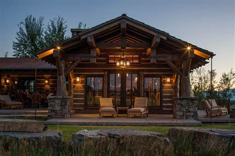 how to install outdoor lighting on house installing rustic outdoor lighting on log cabin home