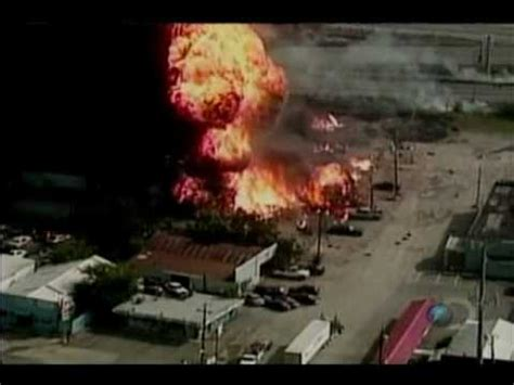 oxyacetilene canister plant in texas blowing up youtube