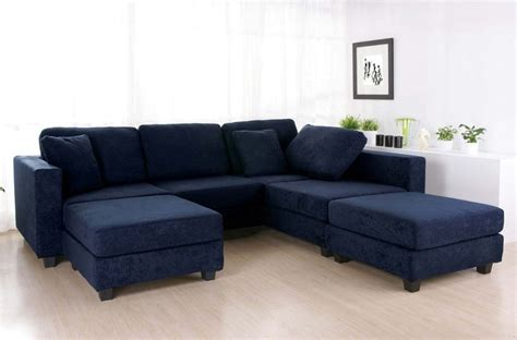 blue sectional sofa navy blue sectional sofa design options homesfeed
