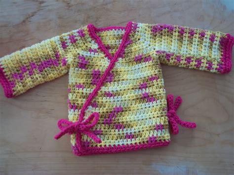 crochet pattern baby kimono crochet pattern kimono wrap baby sweater pdf download