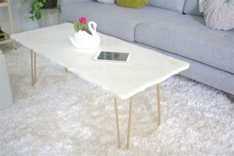 diy marble coffee table mrs apple