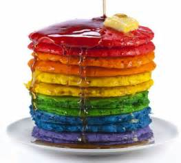 colored pancakes 15 rainbow coloured food that will make you go