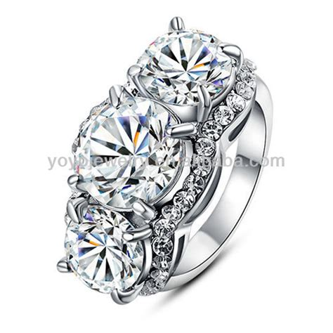 high quality aaaaa cubic zirconia engagement rings buy