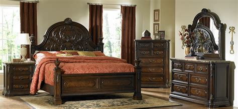 copeland master bedroom set with marble tops von furniture