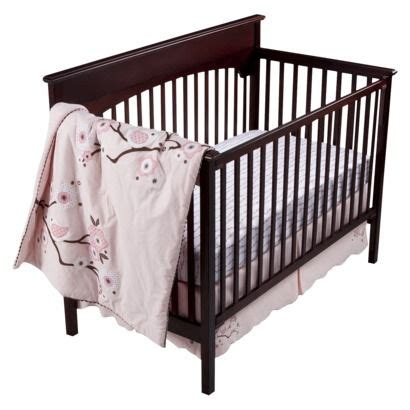 migi pink migi blossom 3 pc crib set opens in a new window