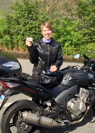 Motorrad Intensiv Kurs Hamburg by Hat Die Motorradpr 252 Fung Klasse A Bestanden