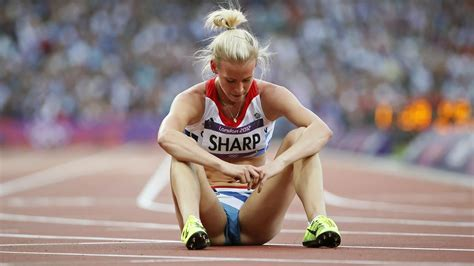women of sports revealing photos 800m runner sharp makes loughborough move athletics