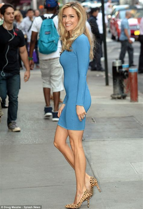 Kristin Dress kristin cavallari displays trim frame in a