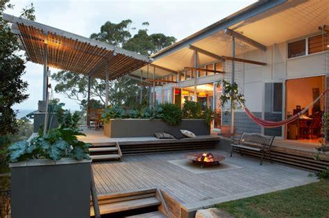 Ground Level Patio Ideas by 20 Ground Level Deck Designs Idea Design Trends